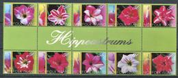 298 NORFOLK 2004 - Yvert 820/29 - Fleur - Neuf ** (MNH) Sans Charniere - Norfolk Island