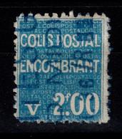 Colis Postaux - YV 100 Oblitere , Cote 25 Euros , Rare En Oblitéré - Usados