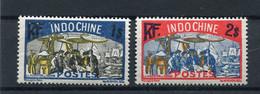 !!! INDOCHINE, N°145/146 NEUFS SANS CHARNIERE - Unused Stamps
