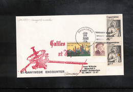 USA 1993 Space / Raumfahrt  Galileo G1 - Ganymede Encounter Interesting Cover - United States