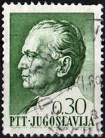 JUGOSLAVIA, YUGOSLAVIA, MARESCIALLO TITO, 1968, 0,30 D., FRANCOBOLLO USATO Mi:YU 1282, Scott:YU 926, Yt:YU 1150 - Gebraucht