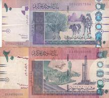 SUDAN 5 10 POUNDS 2006 P-66 67 LOT FINE USED SERIES DP EA - Sudan