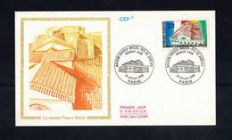 FDC-1151**FRANCE 1990 *LA MAISON FRANCE BRESIL FDC W CEF CACHET - 1990-1999