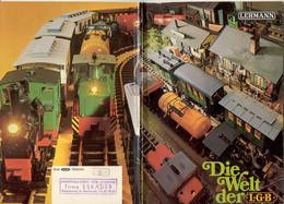 Catalogue LGB 1970 LEHMANN - Die Welt Der LGB - Brochure - Duits