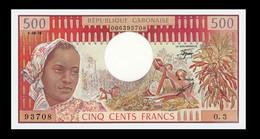 # # # Banknote Gabun 500 Francs 1978 UNC # # # - Gabon