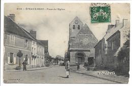 CPA 60 5144 EPAUX BEZU PLACE DE L'EGLISE COLLECTION RF BE - Otros Municipios