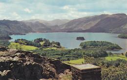 Postcard Derwentwater From Castle Head My Ref B14313 - Cumberland/ Westmorland