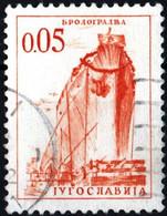 JUGOSLAVIA, YUGOSLAVIA, INGEGNERIA, ARCHITETTURA, 1966, 0,05 D., FRANCOBOLLO USATO Mi:YU 1164, Scott:YU 830, Yt:YU 1069 - Gebraucht