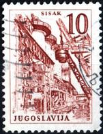 JUGOSLAVIA, YUGOSLAVIA, INGEGNERIA, ARCHITETTURA, 1961, 10 D., FRANCOBOLLO USATO Mi:YU 941, Scott:YU 627, Yt:YU 869 - Gebraucht