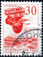JUGOSLAVIA, YUGOSLAVIA, INGEGNERIA, ARCHITETTURA, 1965, 30 D., FRANCOBOLLO USATO Mi:YU 1132, Scott:YU 788, Yt:YU 1028 - Gebraucht