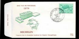 FDC  : Nr 1529  Stempel: Mechelen - 1961-70