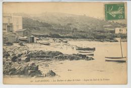 LE LAVANDOU - Les Rochers Et Anse Saint Clair - Le Lavandou