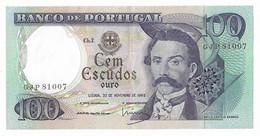 PORTUGAL=1965   100  ESCUDOS  P-169 - Portugal