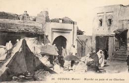 OUDJDA (OUJDA - Maroc) - Marché Au Pain Et Au Charbon - Photo Boumendil - Carte état Neuf - Altri