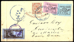 469 - COLOMBIA - 1903 - PROVISIONAL ISSUE ON STATIONERY - FORGERY, FALSE, FALSCH, FAKE FAUX - Collezioni (senza Album)