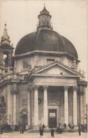 ROMA-CHIESA DI SANTA MARIA DEI MIRACOLI- CARTOLINA  VERA FOTO - NON VIAGGIATA -1915-1925 - Churches