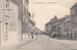 Deux-Acren - Rue Culent - Très Belle Carte - état Voir Scan. - Lessines