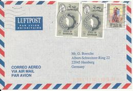 Bahrain Air Mail Cover Sent To Germany 22-11-1998 - Bahrain (1965-...)
