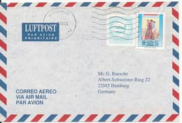 Bahrain Air Mail Cover Sent To Germany 17-9-1996 - Bahrain (1965-...)