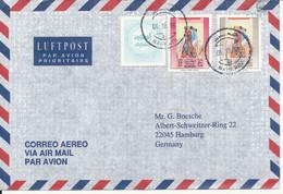 Bahrain Air Mail Cover Sent To Germany 6-10-1996 - Bahrain (1965-...)