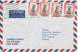 Bahrain Air Mail Cover Sent To Germany 9-3-1996 - Bahrain (1965-...)