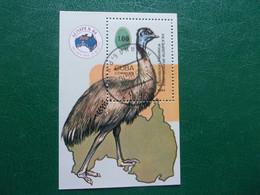 Emeu Bloc Cuba Oiseau Bird Oiseaux Vogel Pajaro Uccello Fugl Emu - Zonder Classificatie