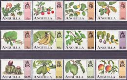 3140 - Anguilla - 1997 - Fruit - 12 Stamps - MNH - Lemberg-Zp - Anguilla (1968-...)