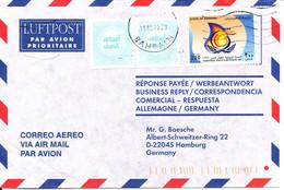 Bahrain Air Mail Cover Sent To Germany 14-12-1999 - Bahrain (1965-...)