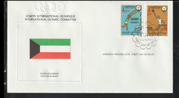 Kuwait FDC 1980 Moscow Olympic Games (LG18) - Summer 1980: Moscow