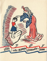 Luxembourg (WWII) - Lôss Viru Blenken D'Freihéts-Sonn (Looss Viru Blénken D'Fräiheets-Sonn) - Other