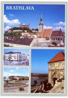 Bratislava. Pohlad Na Hrad A Dom Sv. Martina. Hotel Danube. Namestie Slobody. Zigmundova Brana. - Slovacchia