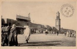 CASABLANCA (Maroc) - Boulevard Du 4e Zouaves  - Animée - Bon état - 2 Scans - Casablanca