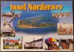 Ak Deutschland - Nordseeinsel Norderney - Inselansichten - Mühle - Luftaufnahme - Norderney
