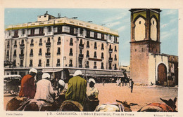 CASABLANCA (Maroc) à Petit Prix Avec Le Grand Photographe Flandrin - L'Hôtel Excelsior - Cpa Colorisée - TBE - Casablanca