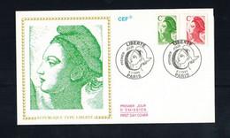 FDC-1164**FRANCE 1990 *LIBERTE FDC W CEF CACHET - 1990-1999
