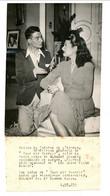 """Photo De Théâtre / """"Tout Est Parfait"""" De André Haguet (prisonnier De Guerre) : Gilbert Gil & Simone Alain / Années 1940 - Beroemde Personen"""