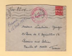 728e Compagnie Des Essences - Casablanca - 1953 - Maroc - Timbre FM - Storia Postale