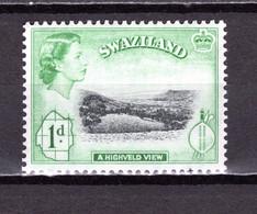 SWAZILAND   N° 56    NEUF SANS CHARNIERE  COTE 0.15€   REINE ELIZABETH II   PAYSAGE - Swaziland (...-1967)