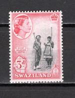 SWAZILAND   N° 58    NEUF SANS CHARNIERE  COTE 0.30€   REINE ELIZABETH II   COUPLE - Swaziland (...-1967)