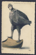 Chantecler Chicken Rooster Guinea Fowl Edmond Rostand Fantasy 1910 Postcard - Pájaros