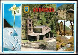 169a * INTERRESSANTE KARTE * ANDORRA * IN 6 ANSICHTEN **!! - Andorra