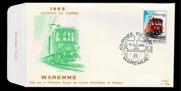 FDC  : Nr 1488  Stempel: Waremme - 1961-70