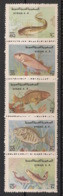 Syrie - 1978 - N°Yv. 520 à 524 - Faune / Poissons - Neuf Luxe ** / MNH / Postfrisch - Syria
