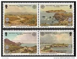 ISLE Of MAN 1986 - EUROPA Cept / National Heritage / Nature Conservation - 2pairs Mi 307-10 MNH ** Cv€3,50 N205 - Isle Of Man