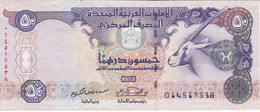 BILLETE DE EMIRATOS ARABES DE 50 DIRHAMS DEL AÑO 2004  (BANKNOTE) ORIX - United Arab Emirates