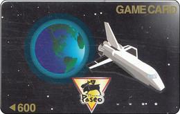 Japan Card   Satelite Phone Weltraum Spaceshuttle - Spazio
