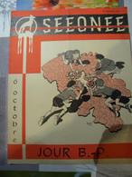 Scouts, Scoutisme. SEEONEE Avec Dessins De Michel TACQ, De DINO Septembre 1957 - Unclassified