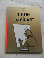 TINTIN L'ALPH.ART 2004 - Tintin