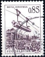 JUGOSLAVIA, YUGOSLAVIA, INGEGNERIA, ARCHITETTURA, 1966, 0,85 D., FRANCOBOLLO USATO Mi:YU 1171, Scott:YU 839, Yt:YU 1078 - Gebraucht