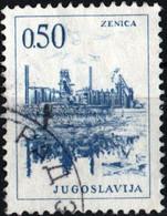 JUGOSLAVIA, YUGOSLAVIA, INGEGNERIA, ARCHITETTURA, 1966, 0,50 D., FRANCOBOLLO USATO Mi:YU 1168, Scott:YU 836, Yt:YU 1075 - Gebraucht